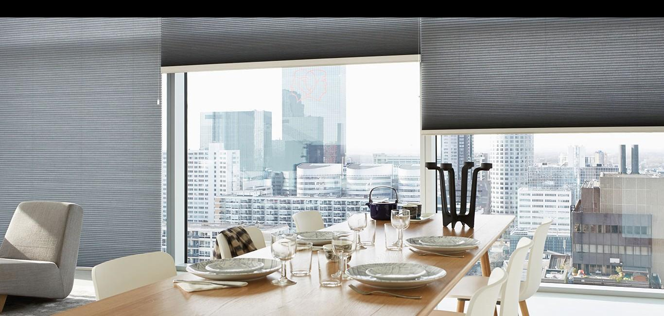 Cortina Applause - Hunter Douglas - Sala de jantar
