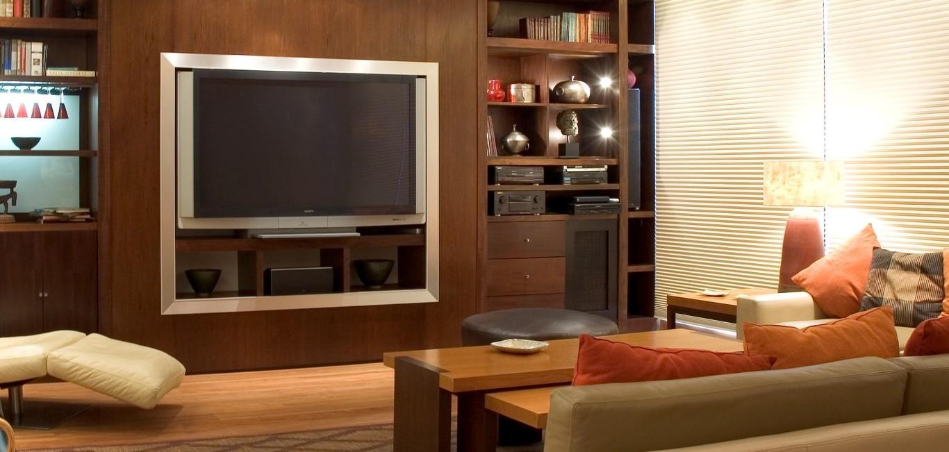Cortina Duette® - Hunter Douglas -  Living (sala)
