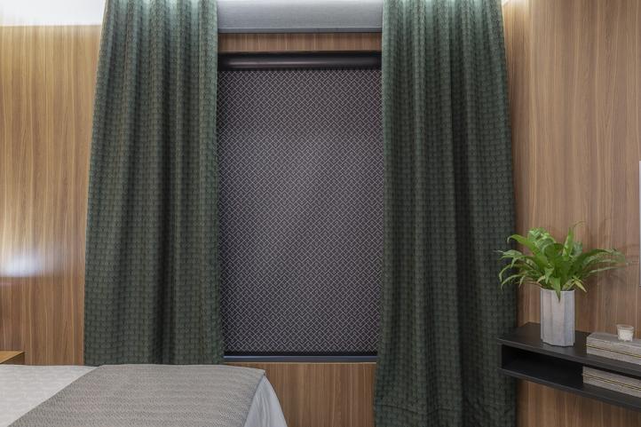 Linha Rolô Etherea oferece cortinas personalizadas para diferentes ambientes