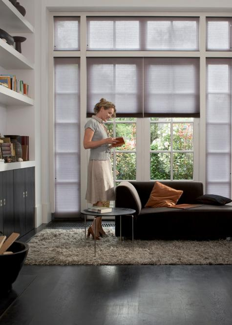 Cortina Duette- salas de estar