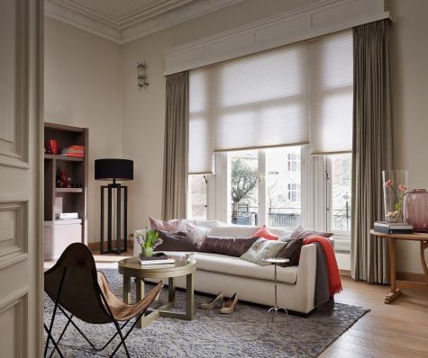 Ambientes con estilo- Cortina Duette HunterDouglas