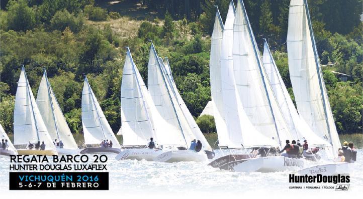 Regata Barco 20 HunterDouglas Luxaflex
