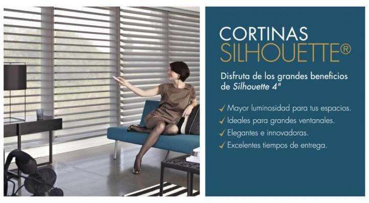 Nueva Cortina Silhouette 4''